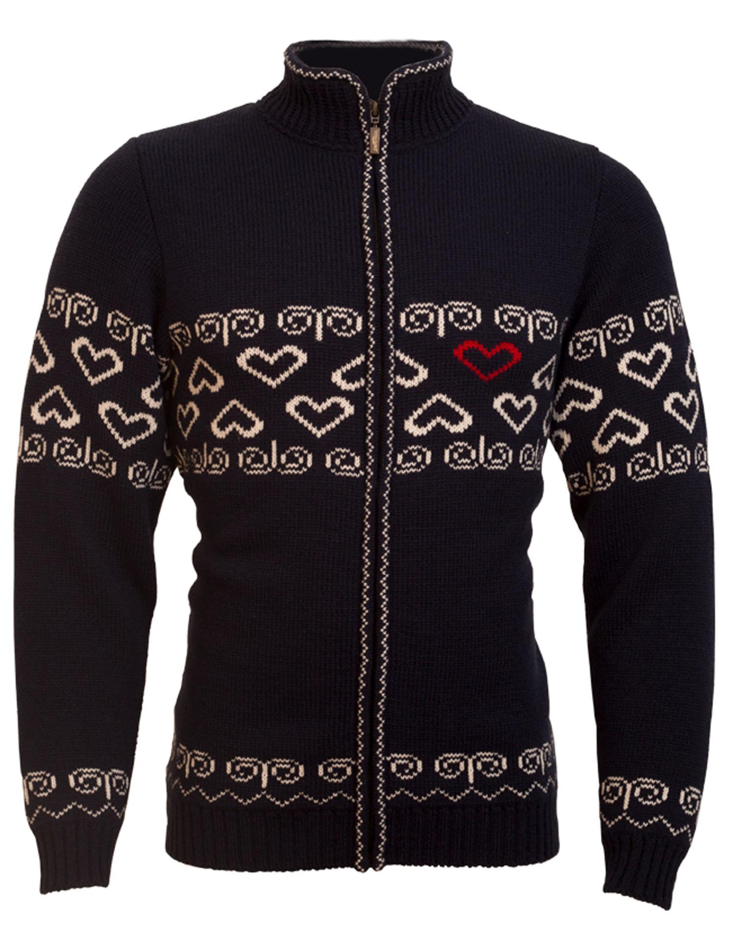 9226fb0a70b1 Pánsky sveter SOCHI 389 - tmavomodrá prírodná